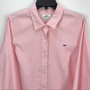 Vineyard Vines Boys Classic Fit Whale Pink 14
